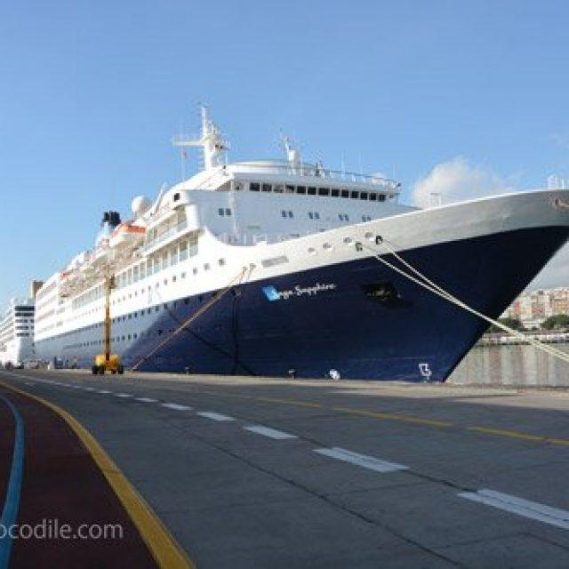 Santa Cruz de Tenerife cruise dock