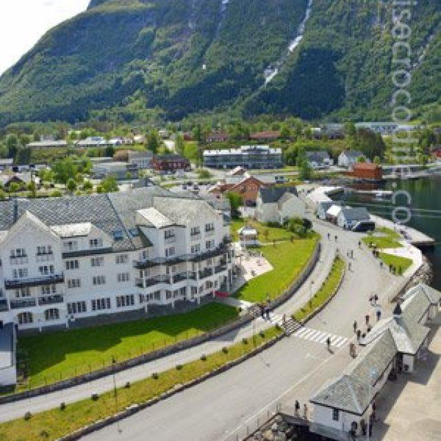 Eidfjord cruise dock