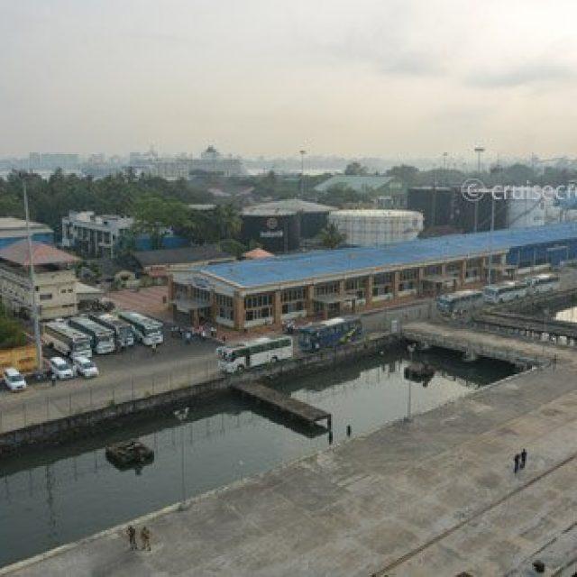 Cochin cruise dock
