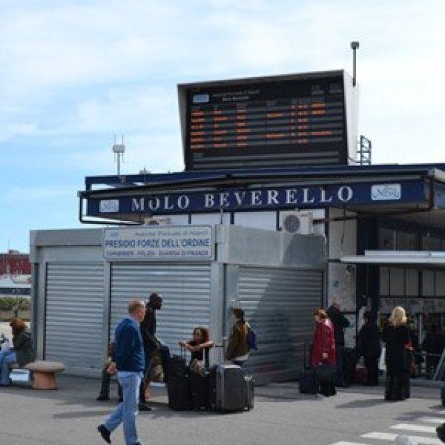 Molo Beverello ferry station