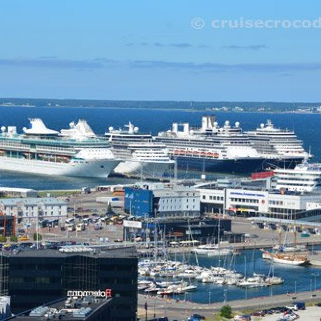 Tallinn cruise dock